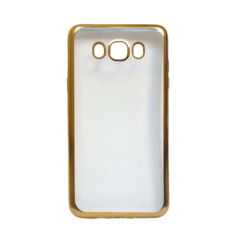Ultrathin iPhoria Shining Casing for Samsung E7 - Gold