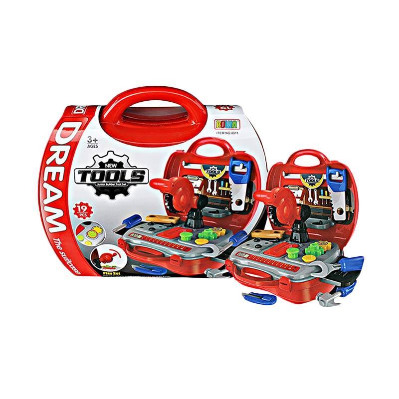 Wonderland Mainan Koper Tools Set - Mainan Alat Tukang