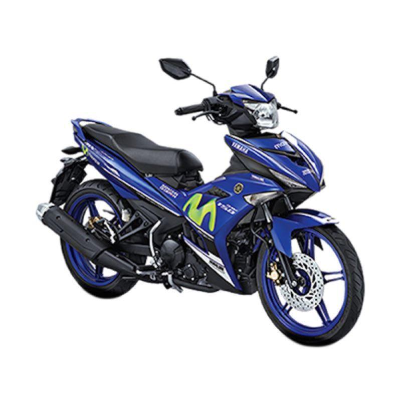 Yamaha Jupiter MX KING 150 Sepeda Motor - GP Movistar [OTR DIY]