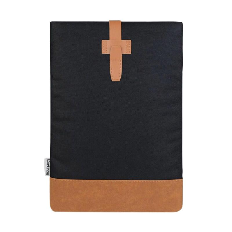 Weekend Deal - Cartinoe Canvas Oxford Sleeve Case for Macbook 13.3 inch - Hitam