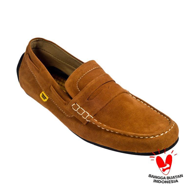 harga Country Boots Casual Keane Sepatu Pria - Brown Blibli.com
