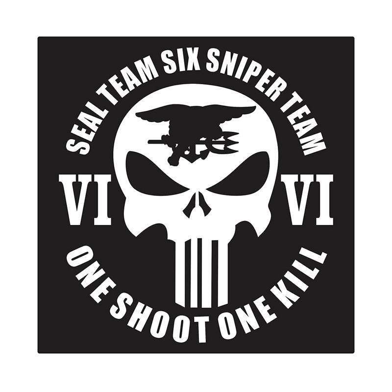 Kyle United States Navy Seal Sniper Team Six Cutting Sticker