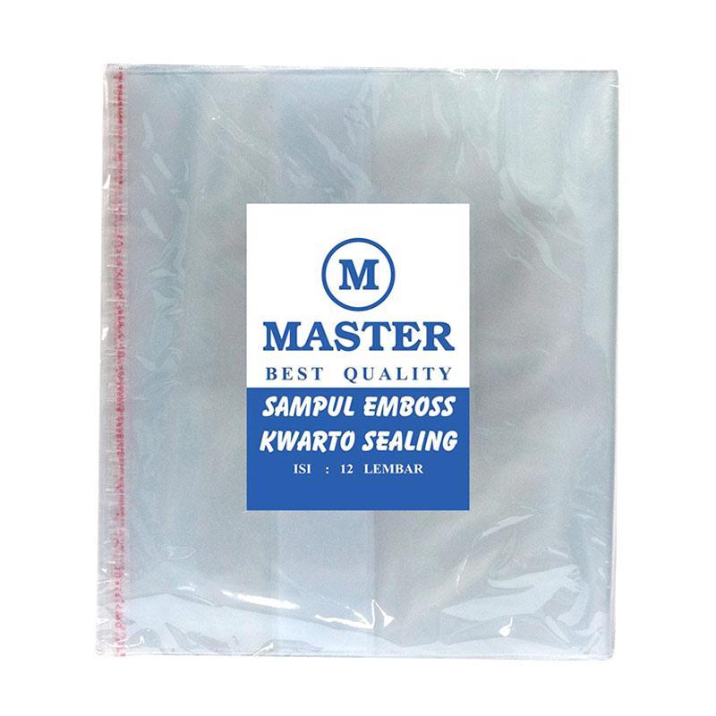 Master Mika Emboss Kwarto Sealing Lipat Sampul Plastik