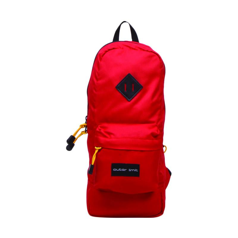 Outer Limit Mini Backpack Unisex BBP.37 Tas Ransel - Red