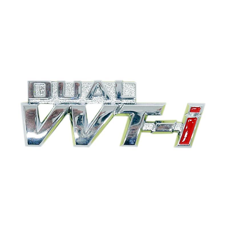SIV EMB-DUAL 02 Dual Logo Emblem VVT-i Aksesoris Body Mobil [Large]
