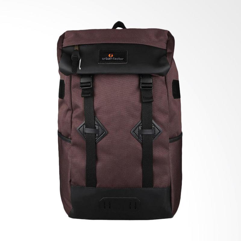 harga Urban Factor Sky Scrapper Tas Ransel Backpack - Brown Blibli.com