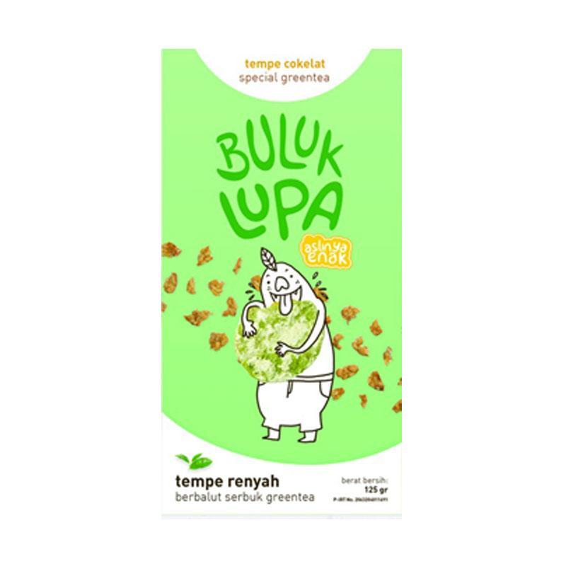 Buluk Lupa Kripik Tempe Coklat Berbalut Green Tea