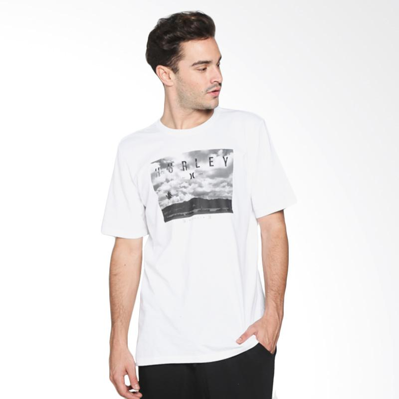 Hurley Horizon Photo T-Shirt Pria - White AMTSHZPT 10A