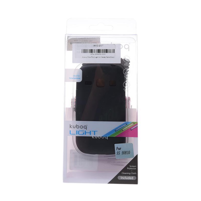 Kuboq Ultra Thin Light Casing for Samsung Galaxy Fame - Black