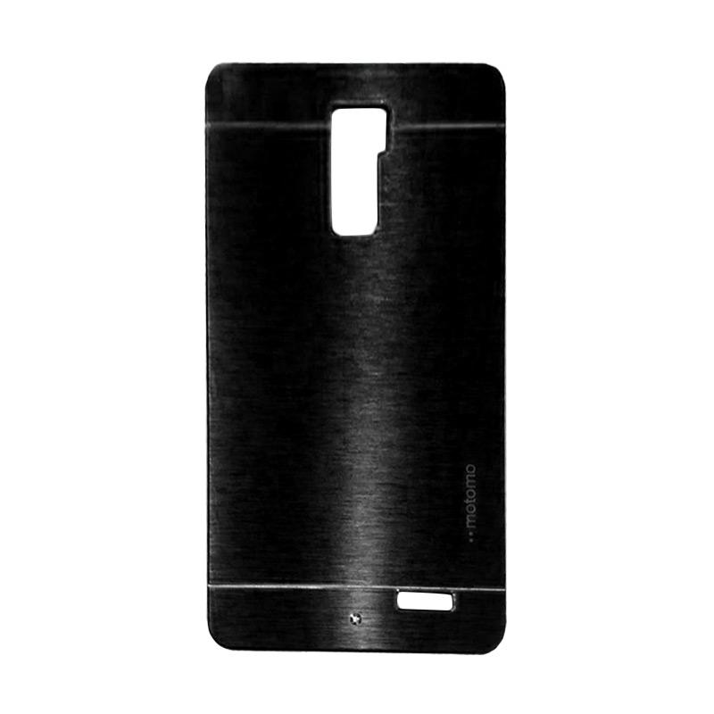 Motomo Metal Hardcase Backcase Casing for Oppo R7 Plus - Black