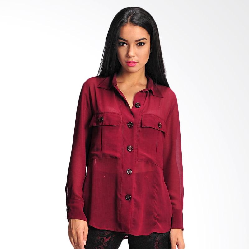 SJO & Simpaply X-Trimbulk Women's Shirt - Maroon