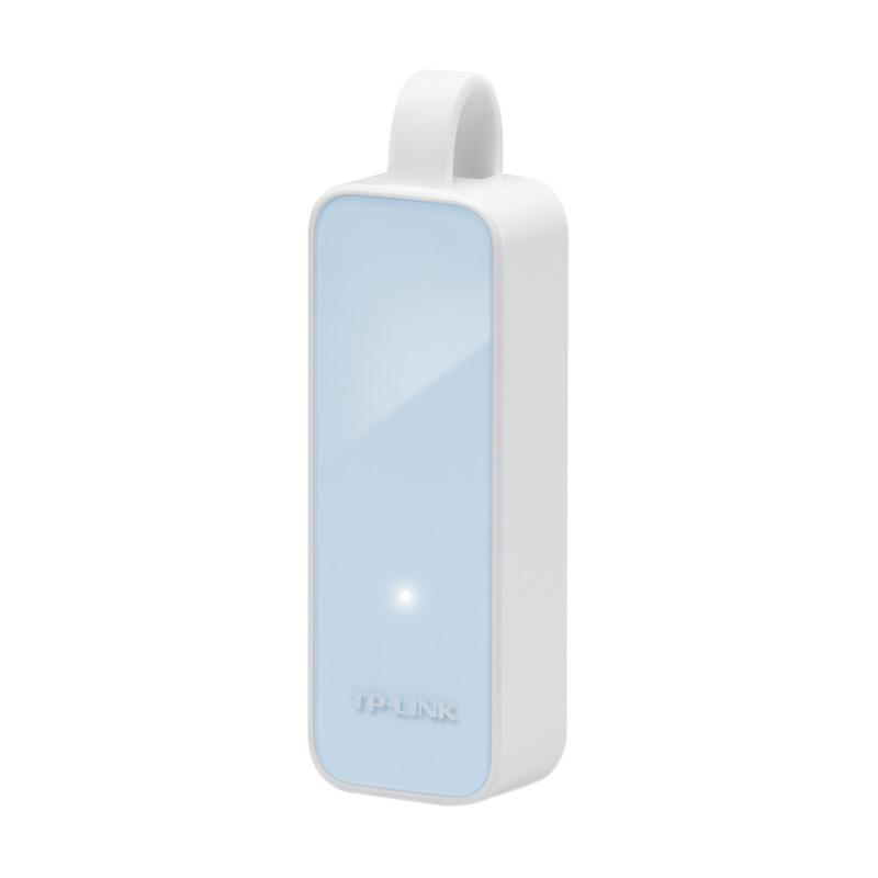 TP-LINK UE200 USB 2.0 to Ethernet Network Adapter - White [100 Mbps]