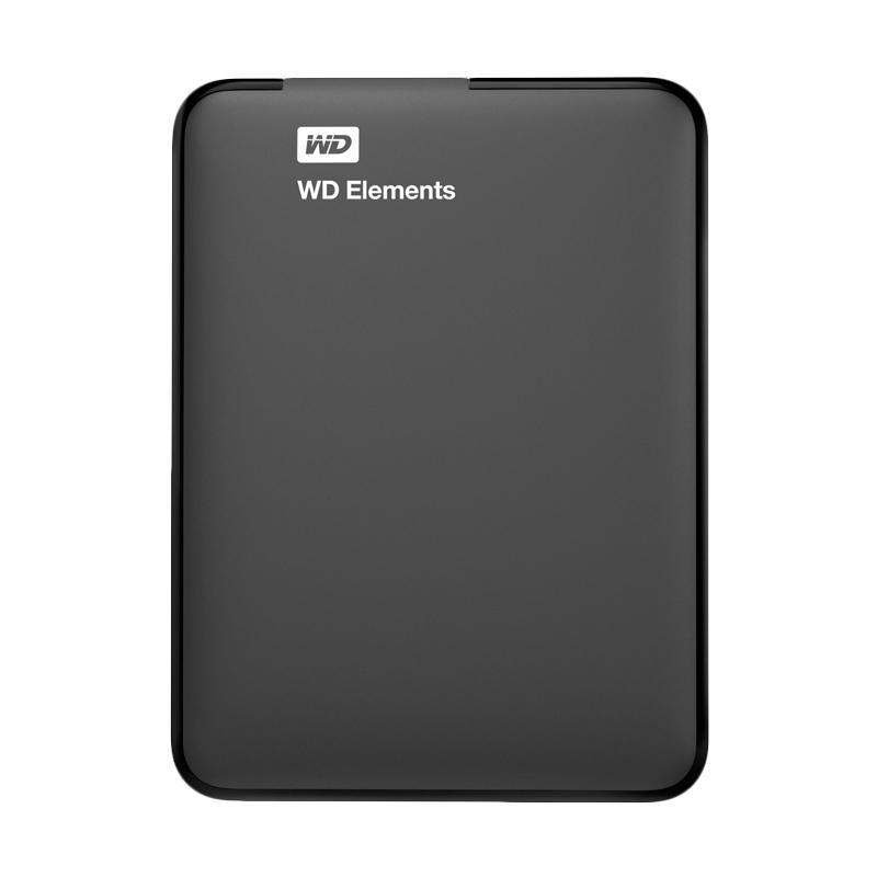 harga WD Elements Portable Hard Disk Eksternal - Hitam [750 GB/USB 3.0/2.5 Inch] Blibli.com