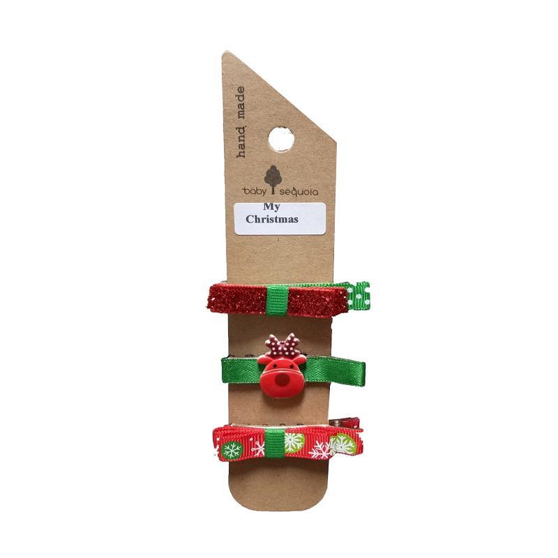 Baby Sequoia My Christmas Clip Penjepit Rambut [3 pcs]