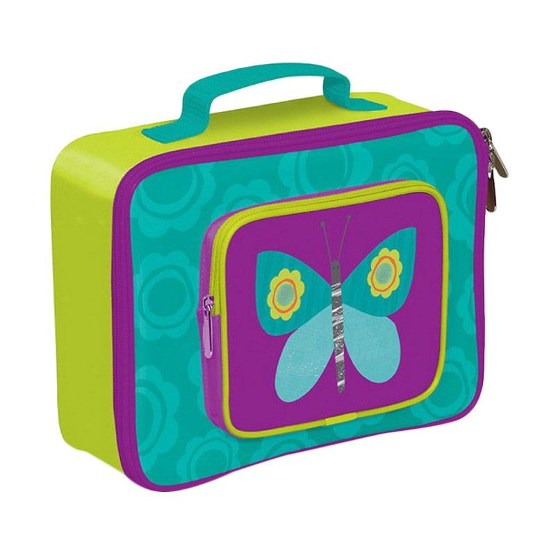 Crocodile Creek Butterfly Lunch Box - Purple Green