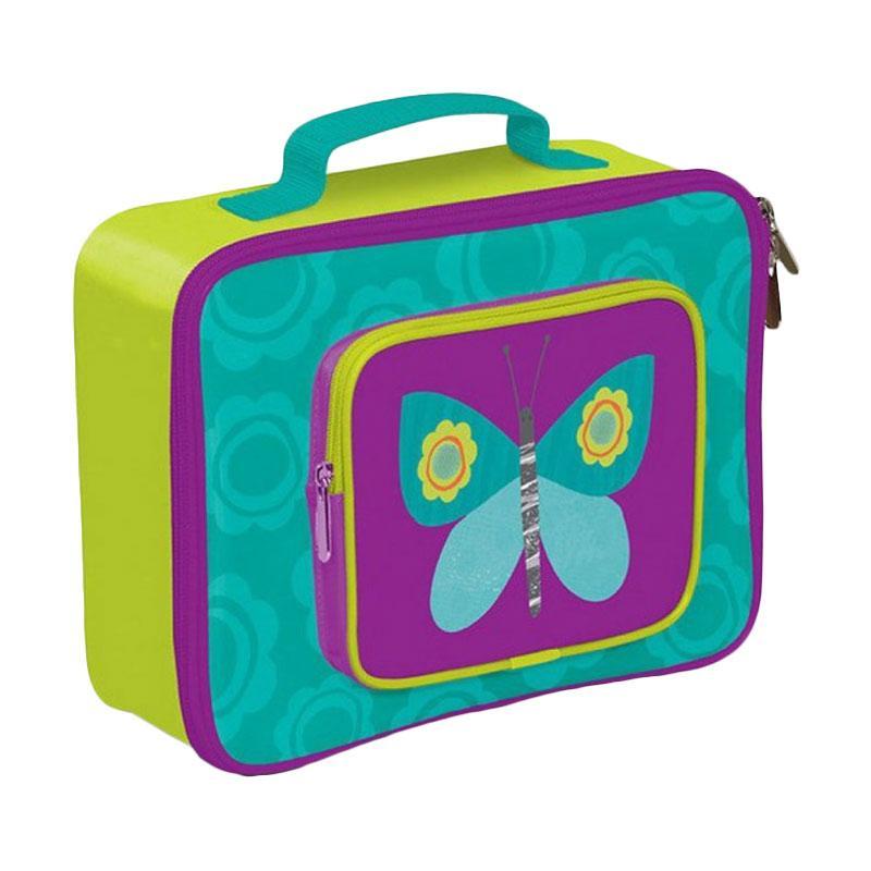 Crocodile Creek Lunch Box Butterfly - Green Purple