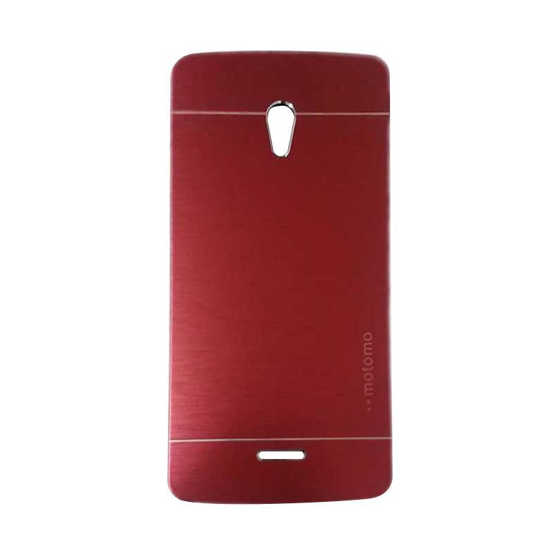 Motomo Metal Hardcase Backcase Casing for Oppo Joy or R1001 - Red
