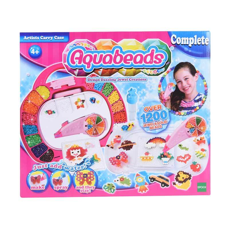 Aquabeads Artists Carry Case Set Mainan Anak [1200 Pcs]
