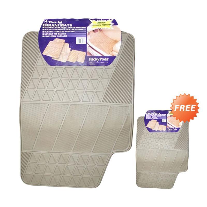 Buy 1 Get 1 Packy Poda Errani Mats Beige KPT 8604 - BG Karpet Mobil