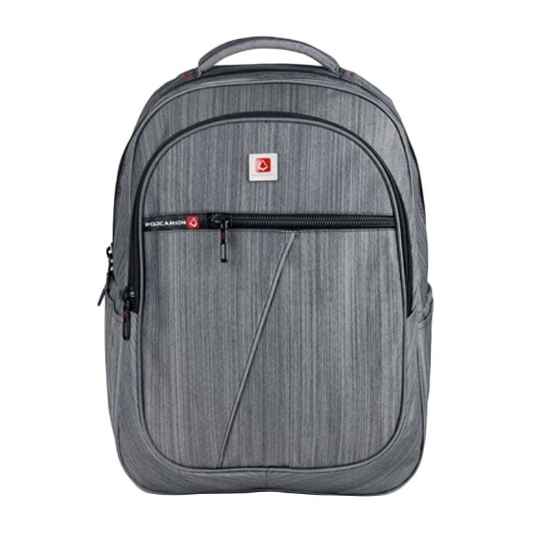 Polo Carion 730047 Ransel Laptop - Abu-abu [30 l/ Raincover]