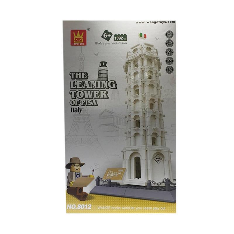harga Wange The Leaning Tower of Pisa Italy Mainan Blok dan Puzzle Blibli.com