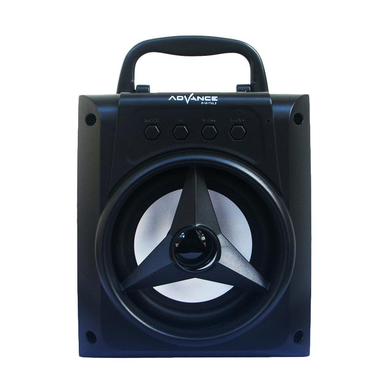 Advance H-14 Jinjing Xtra Power Sound Speaker Portable - Hitam