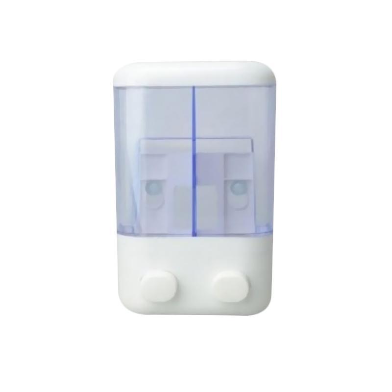 harga Gogo Model Dispenser 2 Tabung Tempat Sabun Cair - Biru Transparant Blibli.com
