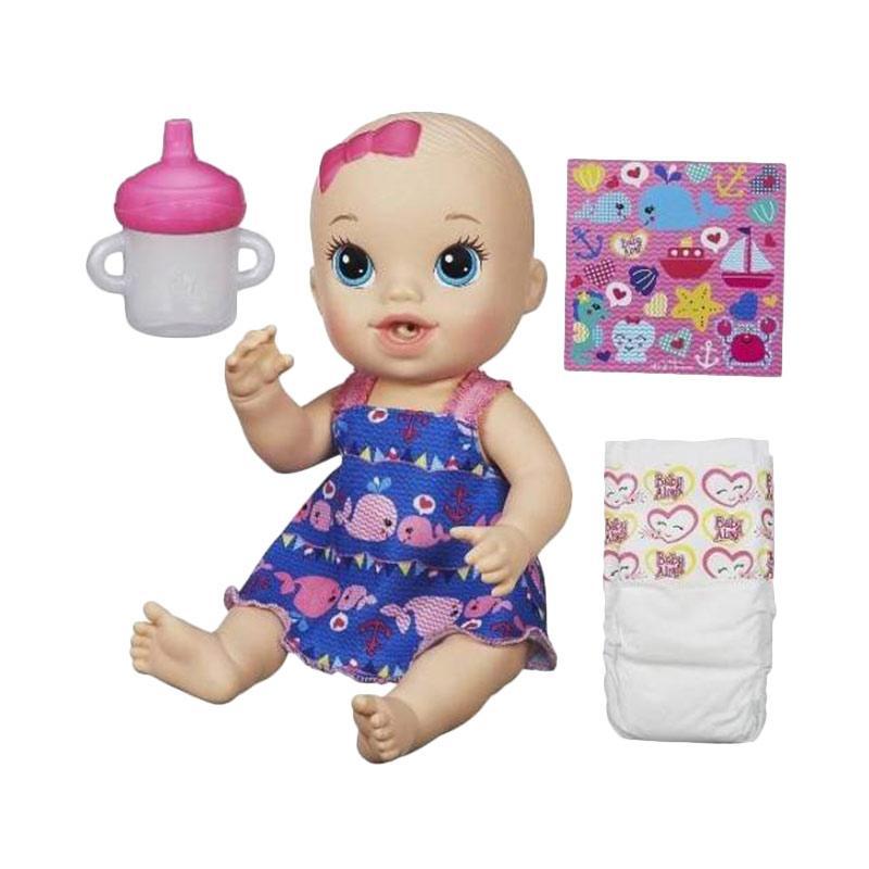 harga Hasbro Original Baby Alive Sips & Cuddles Blue Whale Mainan Anak Blibli.com