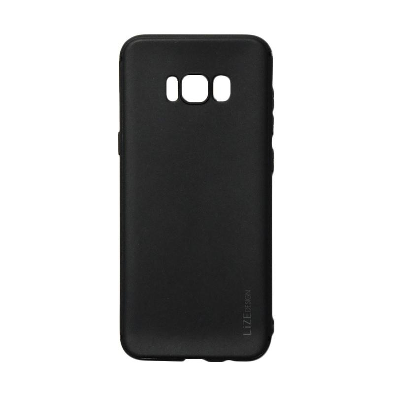 Lize Candy Case Style Softshell Softcase Casing for Samsung Galaxy S8 - Black