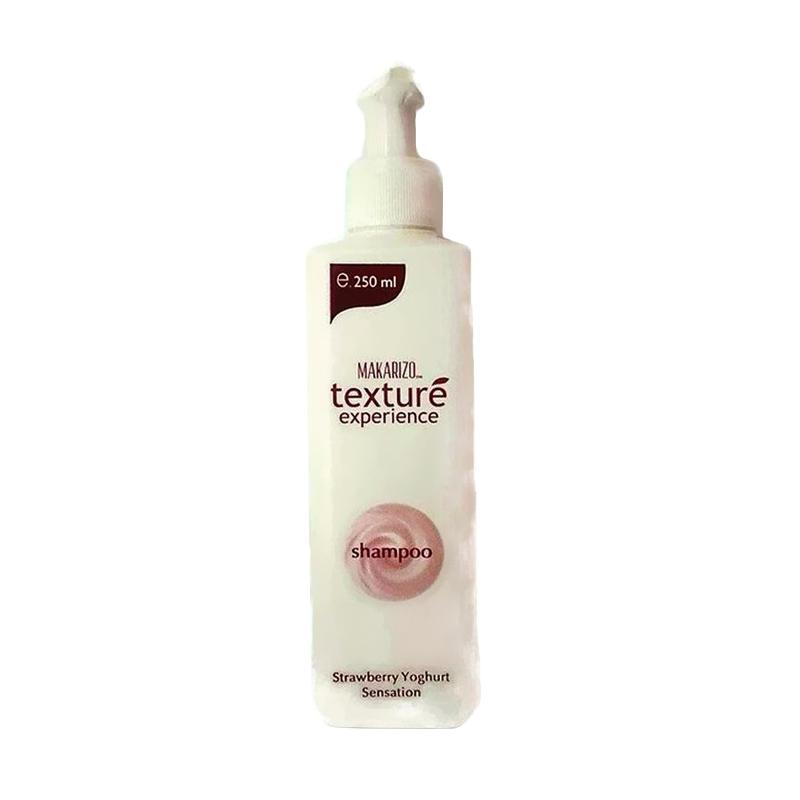 Makarizo Texture Strawberry Yoghurt Shampoo [250 mL] Kosmetik