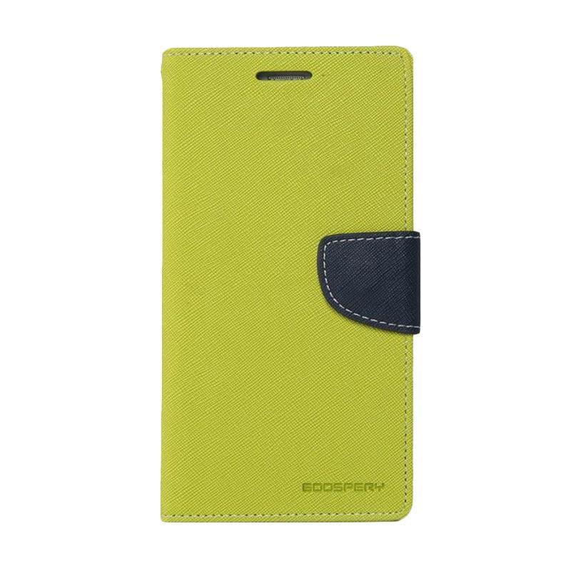 Mercury Fancy Diary Casing for iPhone 4S - Mint Biru Laut