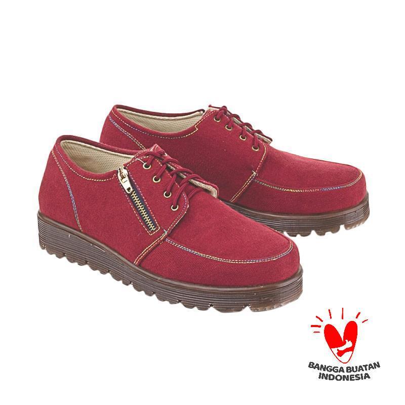 Blackkelly LSW 346 Casual Sepatu Sneakers Wanita - Maroon
