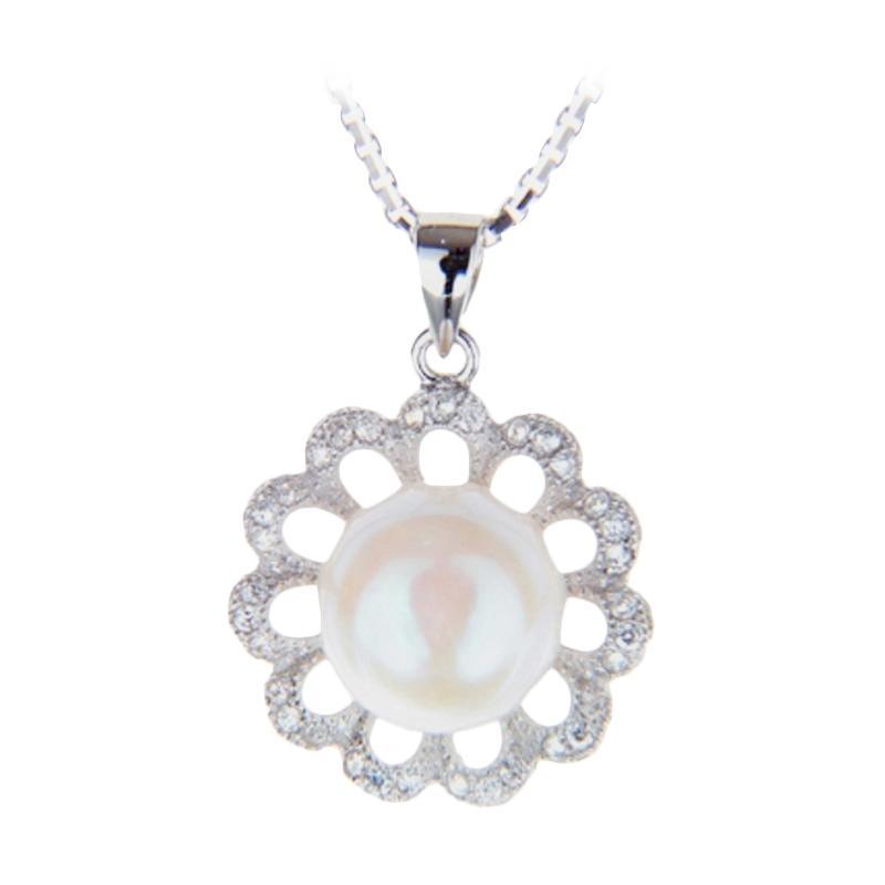 harga Royale Jewel WGP 020A Kalung Perak Emas Putih dan Mutiara Asli Blibli.com