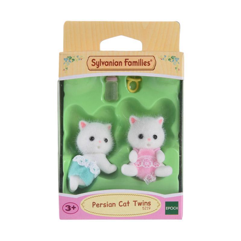 Sylvanian Families Persian Cat Twins Set Mainan Anak