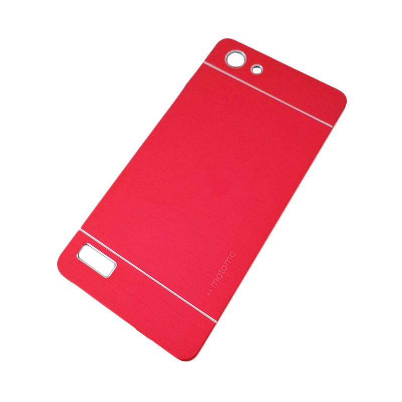 Motomo Metal Hardcase Backcase Casing for Oppo Neo 7 or A33T - Red