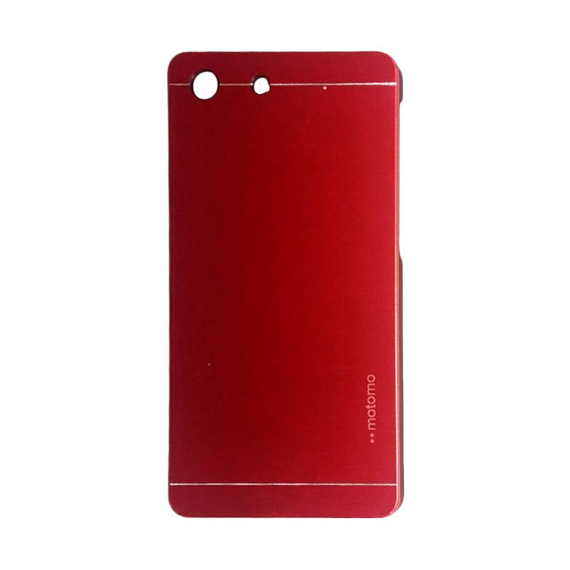 Motomo Metal Hardcase Backcase Casing for Sony Xperia M5 - Red