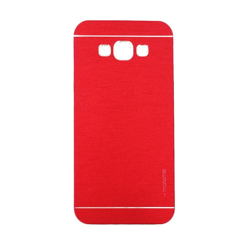 Motomo Metal Hardcase Casing for Samsung Galaxy A5 or A500F - Red