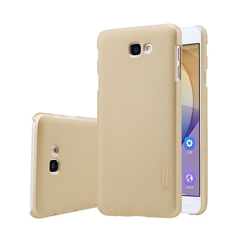 Nillkin Frosted Shield Hardcase Casing for Samsung A310 A3 2016 - Gold