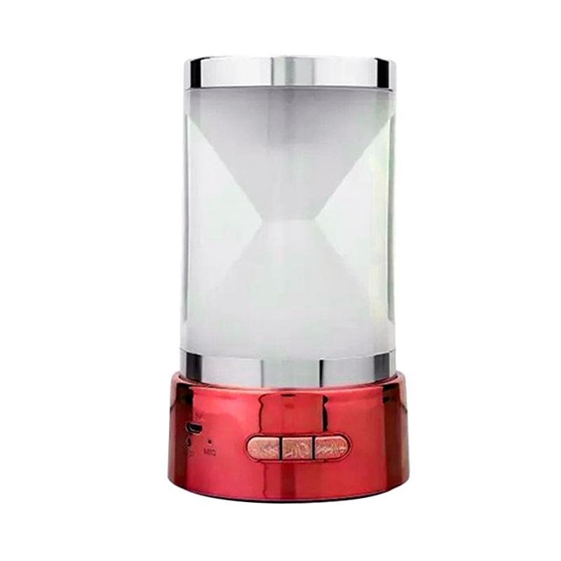harga OptimuZ Mini Hourglass BT-18 Bluetooth Speaker - Merah Blibli.com
