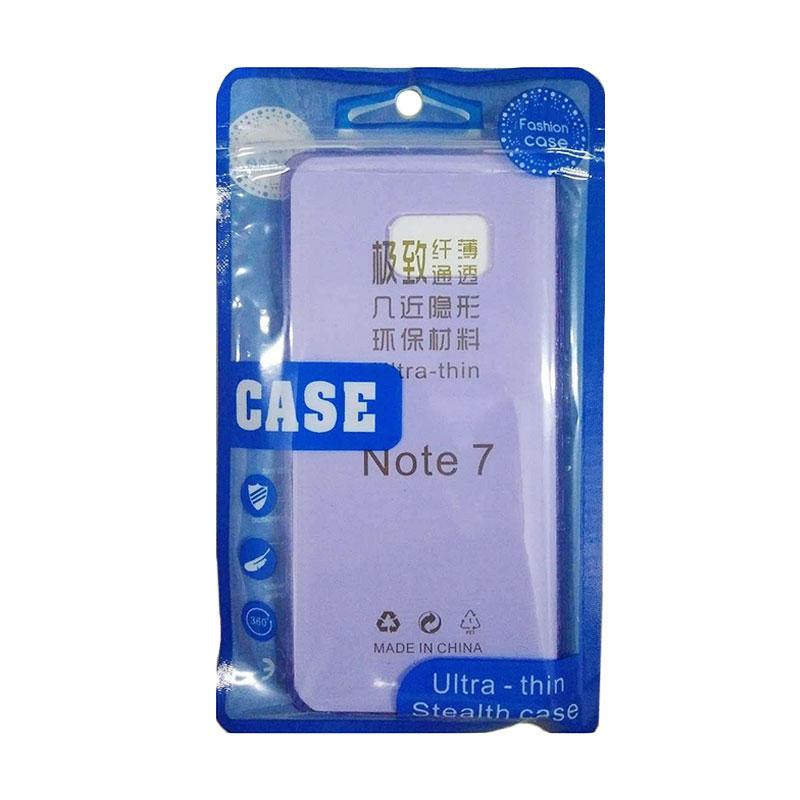 Ultrathin Silicone Casing for Samsung Galaxy Note 7 N930 - Purple