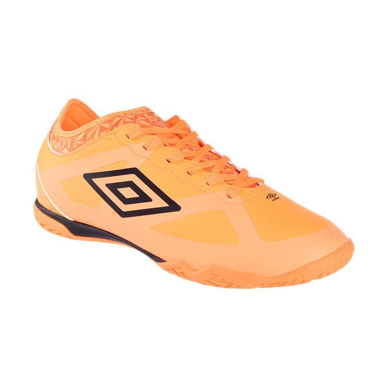 Umbro Velocita III Premier IC Sepatu Futsal - Orange 81238U-ELZ