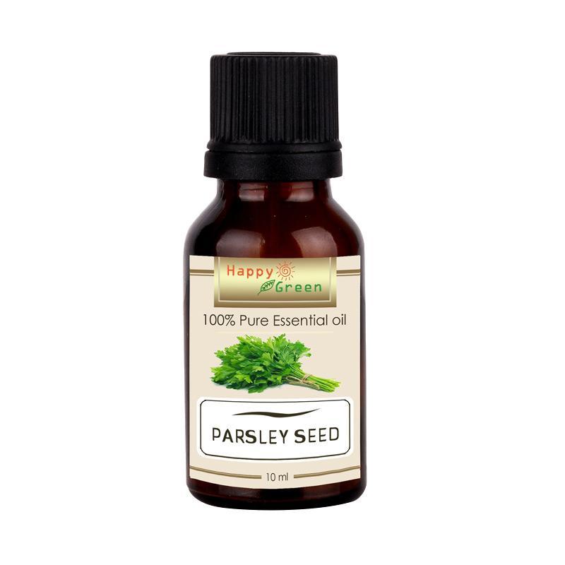 Happy Green 100% Murni Parsley Seed Minyak Peterseli [10 mL]