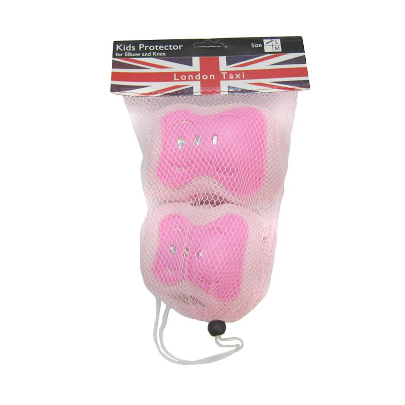 harga Daily Deals - London Taxi Kids Protectors for Elbow and Knee - Pink Blibli.com