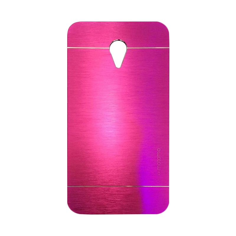 Motomo Metal Hardcase Backcase Casing for Meizu M2 Note - Pink
