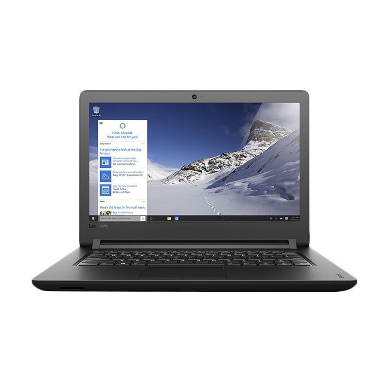 Lenovo Ideapad 110 80T6007QID Notebook - Black Texture [14 inch/N31601TB/DOS]