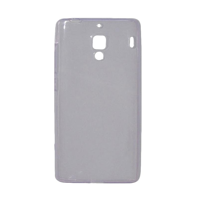 OEM Ultra Thin Jelly Softcase Casing for Xiaomi Redmi - Purple