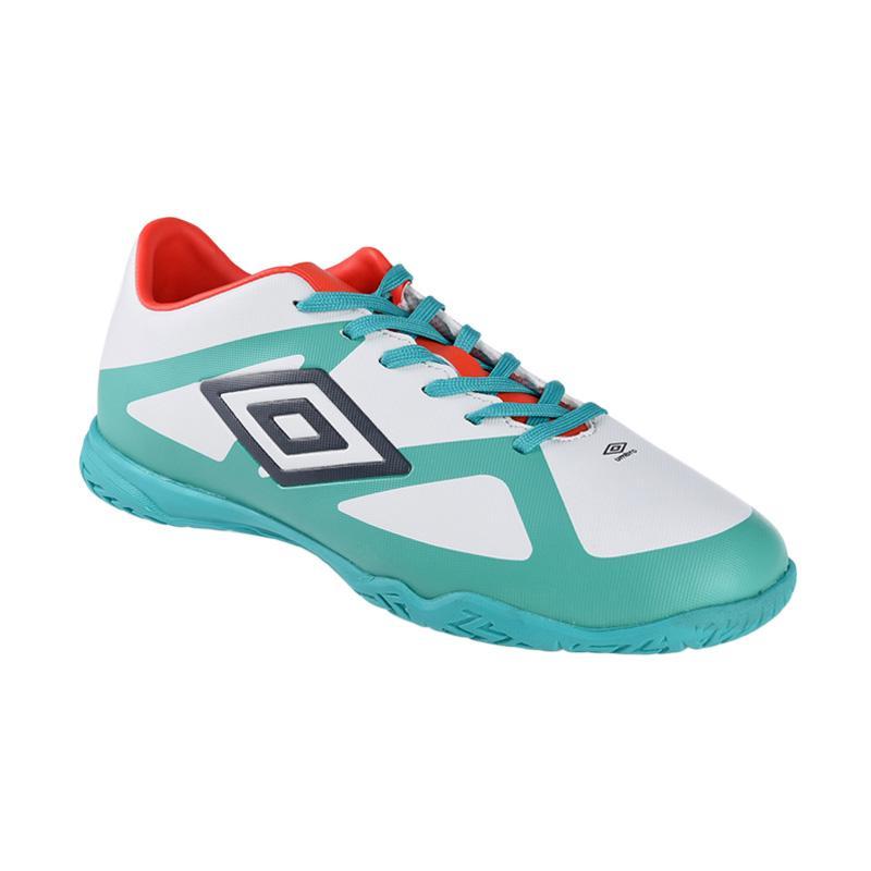 Umbro Velocita III Club IC Sepatu Futsal - Green White 81239U-EPE