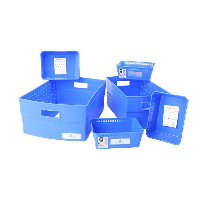 ... penyimpanan kotak penyimpanan . Source · Claris Set Keranjang dan Nampan Mesh - Biru [6 pcs]