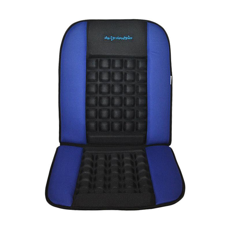 Saizen Mostwanted Cushion Seat Sandaran Mobil Pijat - Blue