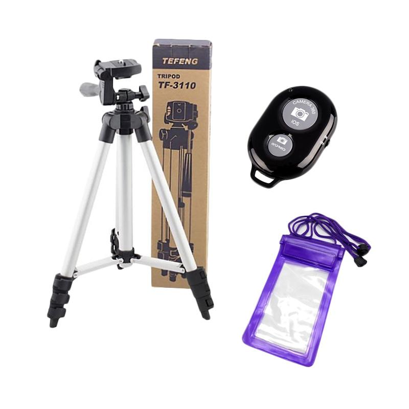 Weifeng Tefeng TF-3110 Tripod with Camera Bluetooth Shutter and Waterproof
